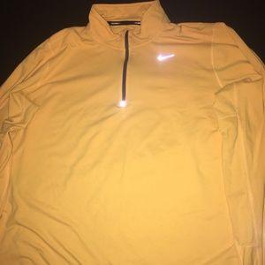 Yellow Nike 3M Sweatshirt